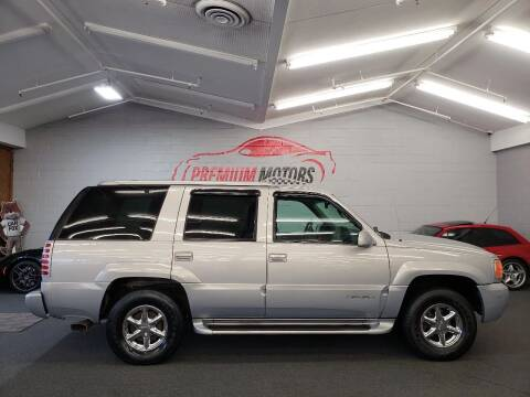 2000 GMC Yukon for sale at Premium Motors in Villa Park IL