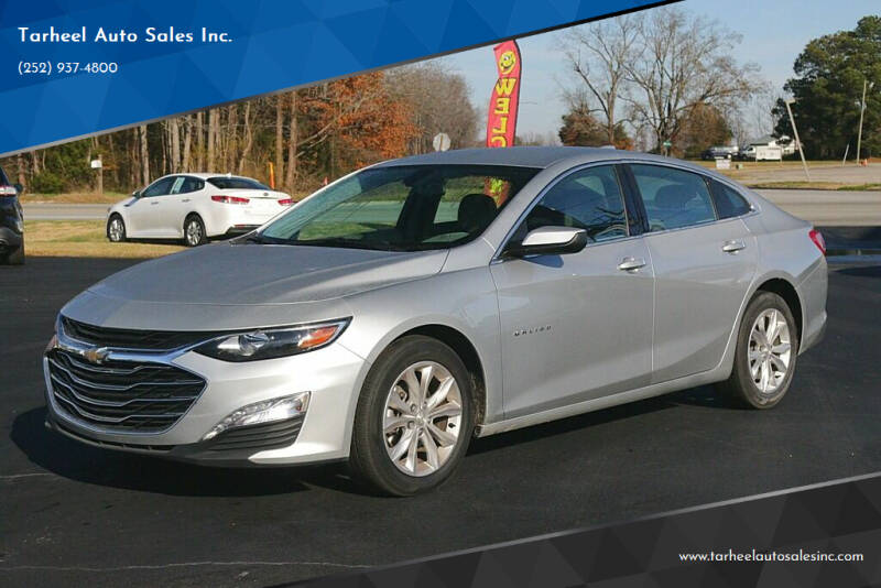 2020 Chevrolet Malibu for sale at Tarheel Auto Sales Inc. in Rocky Mount NC