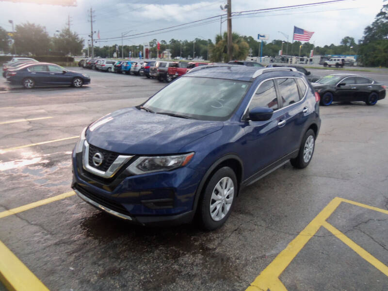 2017 Nissan Rogue for sale at ORANGE PARK AUTO in Jacksonville FL