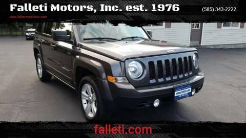 2017 Jeep Patriot for sale at Falleti Motors, Inc.  est. 1976 in Batavia NY