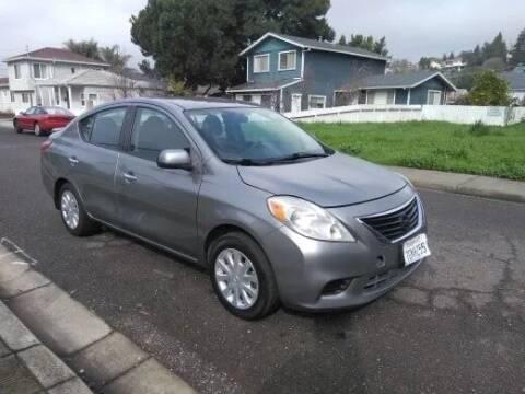 2014 Nissan Versa for sale at Gateway Motors in Hayward CA