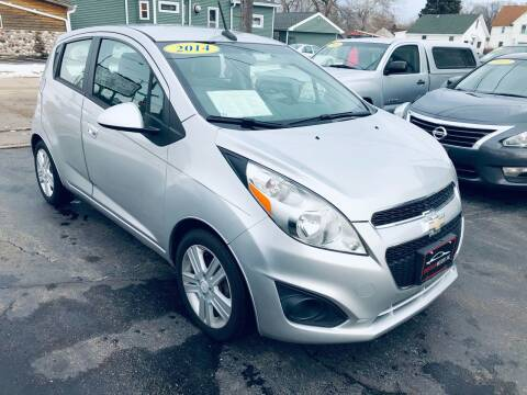 2014 Chevrolet Spark for sale at SHEFFIELD MOTORS INC in Kenosha WI