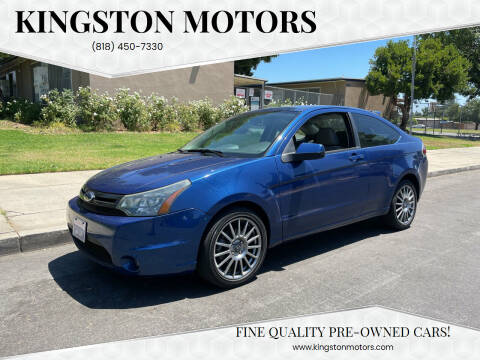 2009 Ford Focus for sale at Kingston Motors in North Hollywood CA