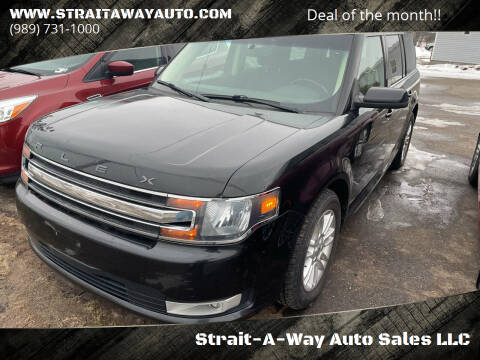 2014 Ford Flex for sale at Strait-A-Way Auto Sales LLC in Gaylord MI