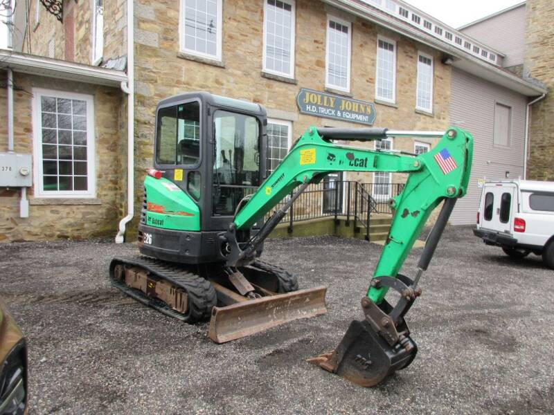 2013 Bobcat E-26 for sale at ABC AUTO LLC in Willimantic CT