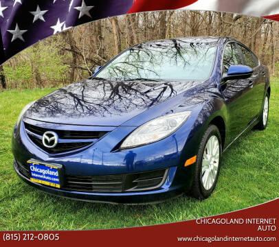 2009 Mazda MAZDA6 for sale at Chicagoland Internet Auto - 410 N Vine St New Lenox IL, 60451 in New Lenox IL