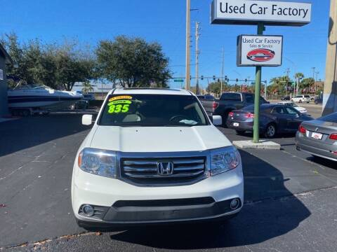 2014 Honda Pilot for sale at Used Car Factory Sales & Service in Bradenton FL