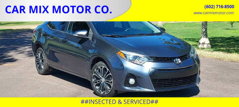 2014 Toyota Corolla for sale at CAR MIX MOTOR CO. in Phoenix AZ