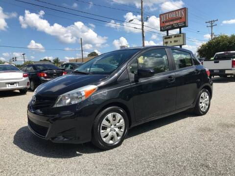 2014 Toyota Yaris for sale at Autohaus of Greensboro in Greensboro NC
