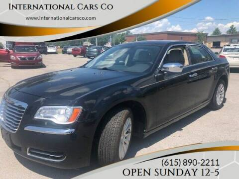 2013 Chrysler 300 for sale at International Cars Co in Murfreesboro TN