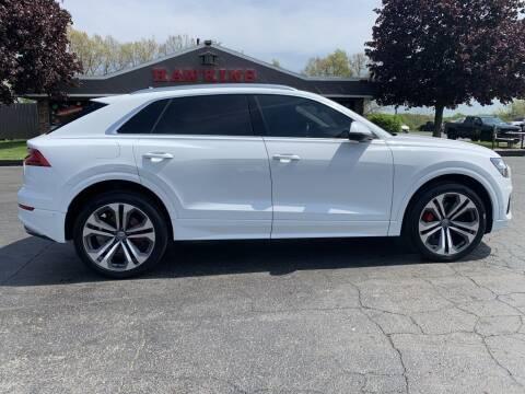 2019 Audi Q8 for sale at Hawkins Motors Sales in Hillsdale MI
