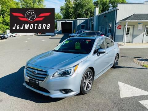 2017 Subaru Legacy for sale at J & J MOTORS in New Milford CT