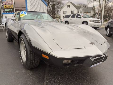 1978 Chevrolet Corvette for sale at GREAT DEALS ON WHEELS in Michigan City IN