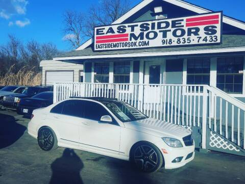 2009 Mercedes-Benz C-Class for sale at EASTSIDE MOTORS in Tulsa OK