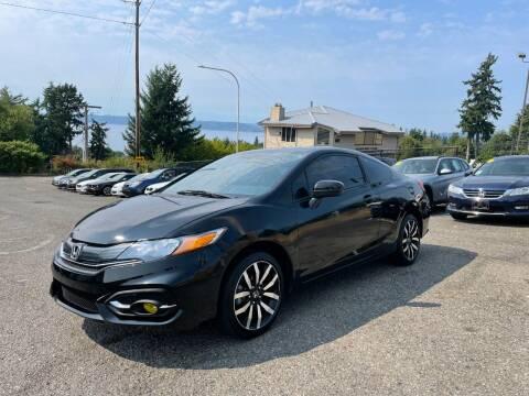 2015 Honda Civic for sale at KARMA AUTO SALES in Federal Way WA