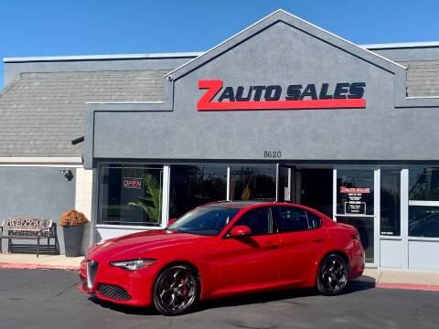 2017 Alfa Romeo Giulia for sale at Z Auto Sales in Boise ID