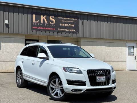 2013 Audi Q7 for sale at LKS Auto Sales in Fresno CA