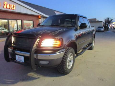 2001 Ford F-150 for sale at Eden's Auto Sales in Valley Center KS