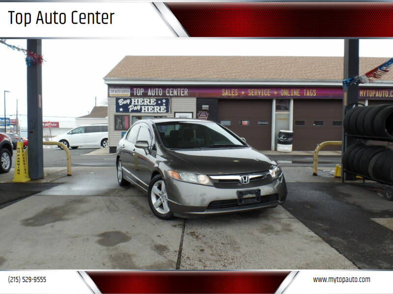 2006 Honda Civic for sale at Top Auto Center in Quakertown PA