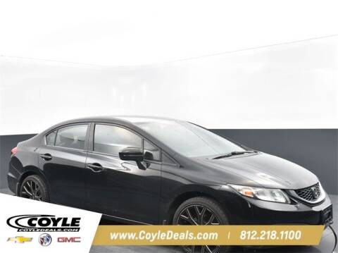 2015 Honda Civic for sale at COYLE GM - COYLE NISSAN - New Inventory in Clarksville IN