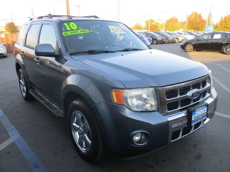 2010 Ford Escape for sale at Choice Auto & Truck in Sacramento CA