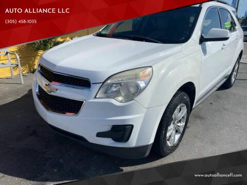 2011 Chevrolet Equinox for sale at AUTO ALLIANCE LLC in Miami FL