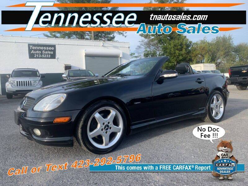 2003 Mercedes-Benz SLK for sale at Tennessee Auto Sales in Elizabethton TN