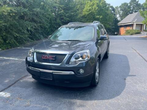 2011 GMC Acadia for sale at SMT Motors in Roswell GA