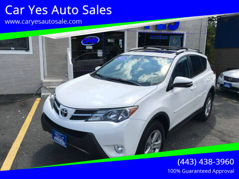 2014 Toyota RAV4 for sale at Car Yes Auto Sales in Baltimore MD
