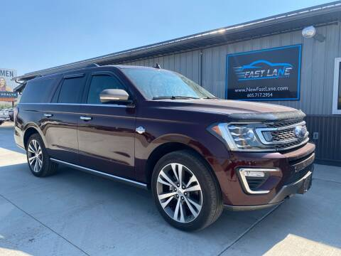 2020 Ford Expedition MAX for sale at FAST LANE AUTOS in Spearfish SD