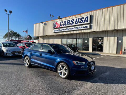 2015 Audi A3 for sale at Cars USA in Virginia Beach VA
