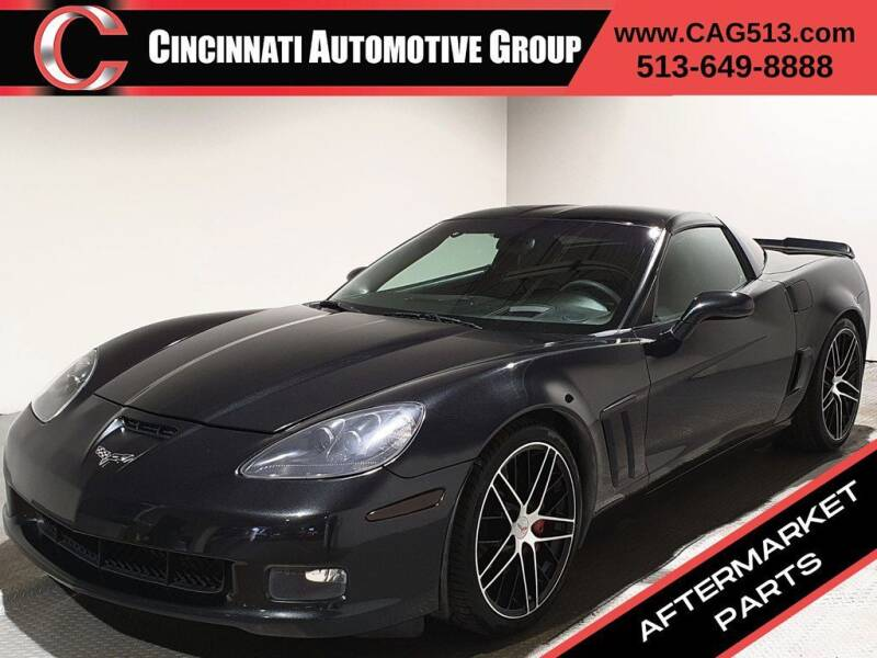 2012 Chevrolet Corvette for sale at Cincinnati Automotive Group in Lebanon OH