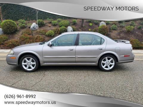 2002 Nissan Maxima for sale at Speedway Motors in Glendora CA