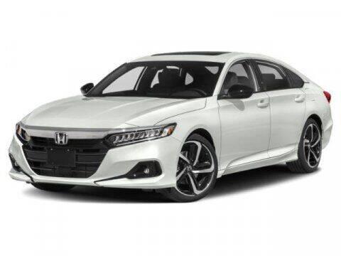 2021 Honda Accord for sale at APPLE HONDA in Riverhead NY