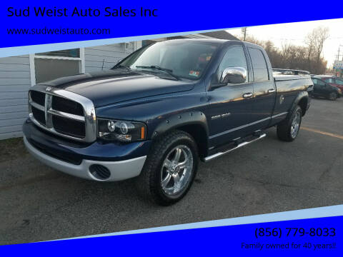 2004 Dodge Ram Pickup 1500 for sale at Sud Weist Auto Sales Inc in Maple Shade NJ