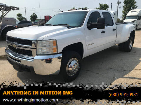 2008 Chevrolet Silverado 3500HD for sale at ANYTHING IN MOTION INC in Bolingbrook IL