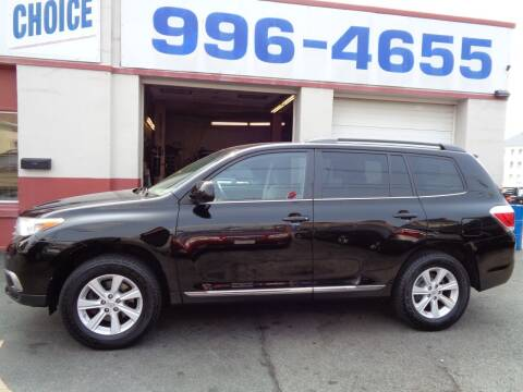 2013 Toyota Highlander for sale at Best Choice Auto Sales Inc in New Bedford MA