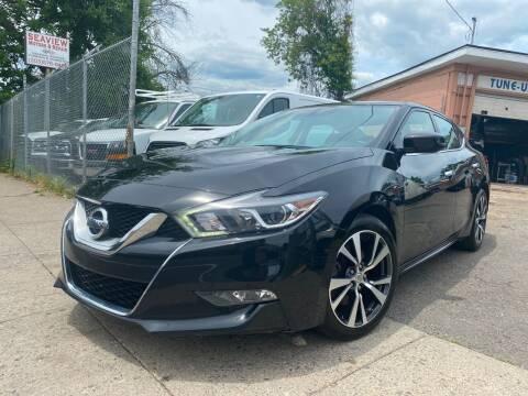 2017 Nissan Maxima for sale at Seaview Motors and Repair LLC in Bridgeport CT
