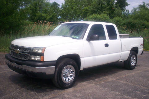 2006 Chevrolet Silverado 1500 for sale at Action Auto Wholesale - 30521 Euclid Ave. in Willowick OH