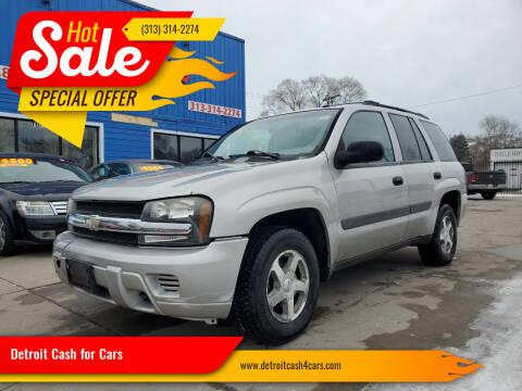 2005 Chevrolet TrailBlazer for sale at Detroit Cash for Cars in Warren MI