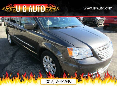2016 Chrysler Town and Country for sale at U C AUTO in Urbana IL