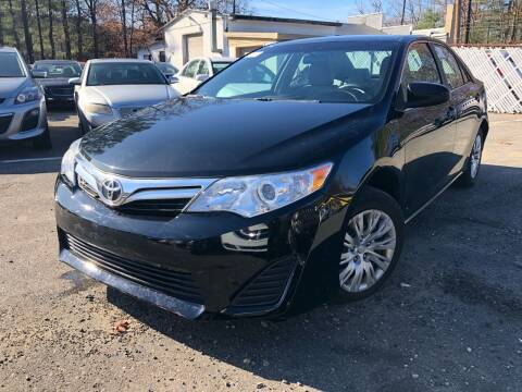 2012 Toyota Camry for sale at Royal Crest Motors in Haverhill MA