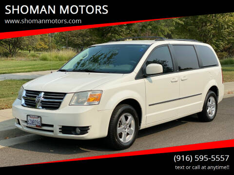 2010 Dodge Grand Caravan for sale at SHOMAN MOTORS in Davis CA