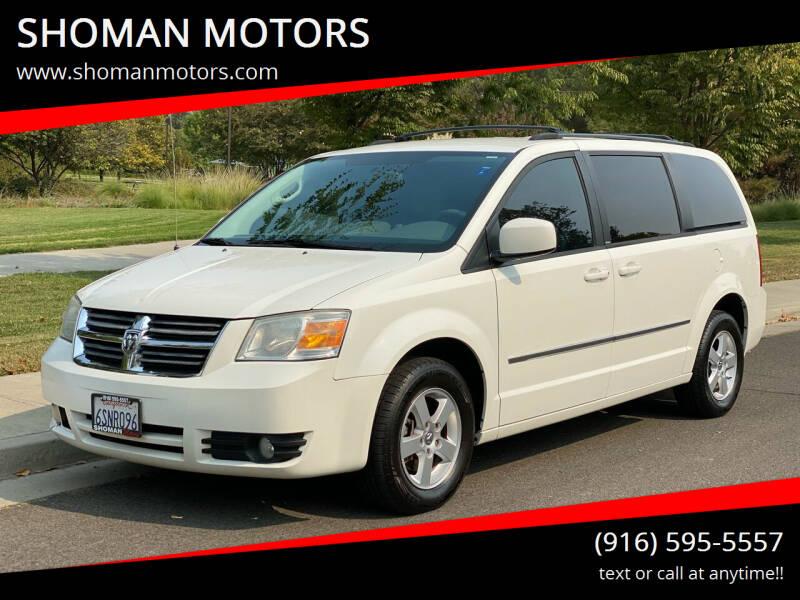2010 Dodge Grand Caravan for sale at SHOMAN AUTO GROUP in Davis CA