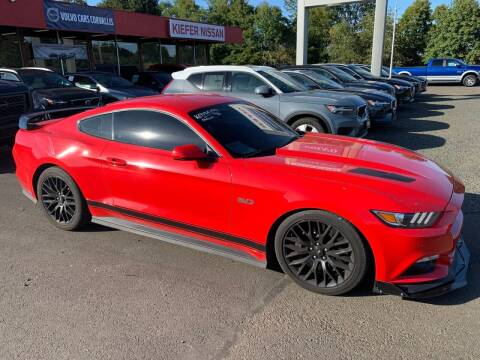 2017 Ford Mustang for sale at Kiefer Nissan Budget Lot in Albany OR