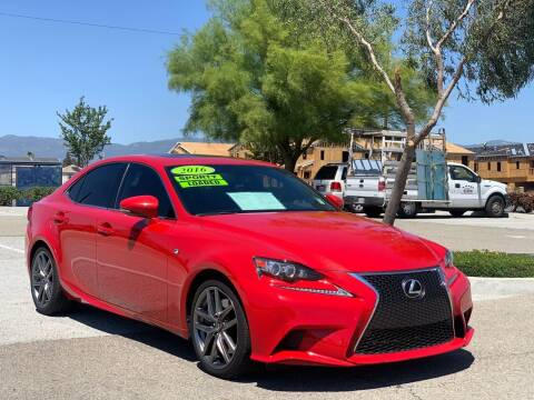 2016 Lexus IS 200t for sale at Esquivel Auto Depot in Rialto CA