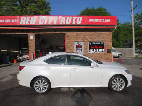 2008 Lexus IS 250 for sale at Red City  Auto in Omaha NE