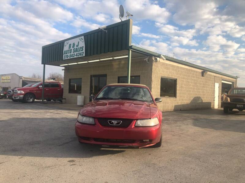 2003 Ford Mustang for sale at B & J Auto Sales in Auburn KY