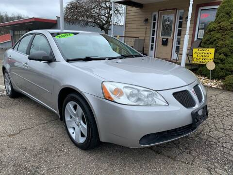 2007 Pontiac G6 for sale at G & G Auto Sales in Steubenville OH