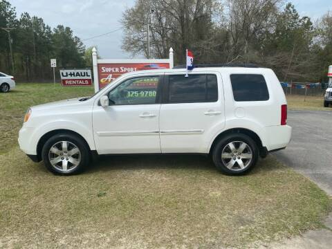 2013 Honda Pilot for sale at Super Sport Auto Sales in Hope Mills NC